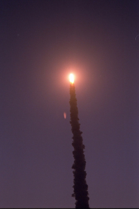 STS-101 Liftoff 5