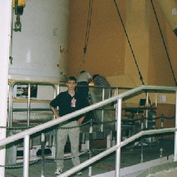 Aaron in the VAB
