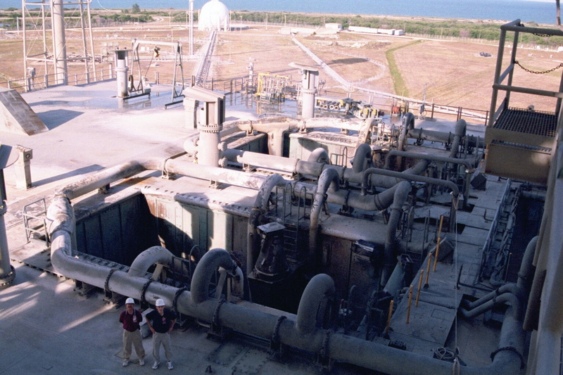 The Blast Deck of the Launch Tower
