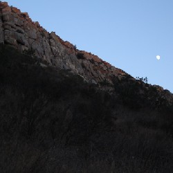 Mission Gorge Moon