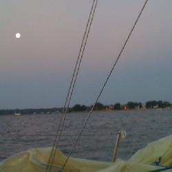 Full Moon over the Patuxent