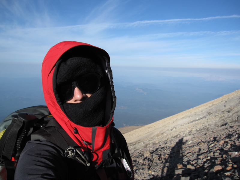 Summit Self-Portrait (West)