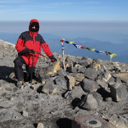 Aaron on Mount Adams Summit