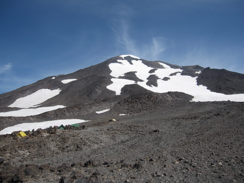Mount Adams South Face from Lunch Counter
