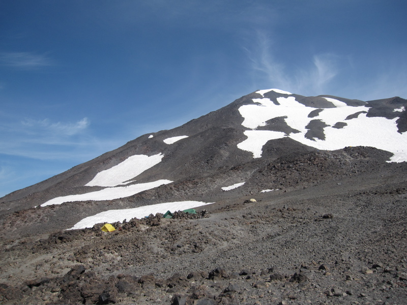 Mount Adams South West Face from Lunch Counter