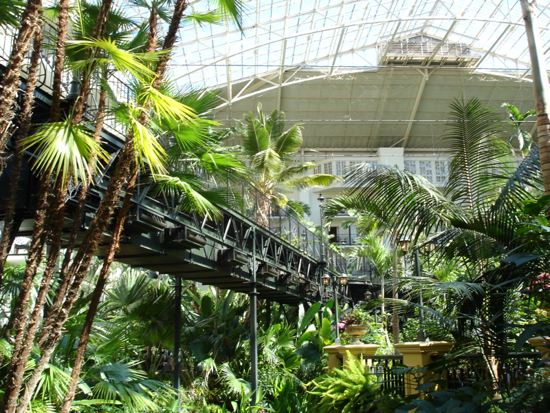 Opryland Garden Conservatory Skywalk