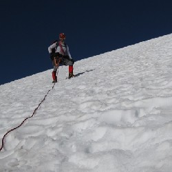 John Descending Snow Dome