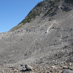 Scramble Path to Lateral Moraine