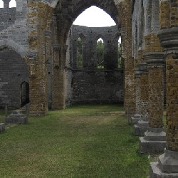 St. George's Unfinished Church (Inside)