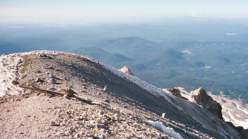 Eastern View from Mt. Hood